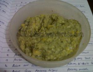 Jagung Bayam Ayam jumlah kalori 123